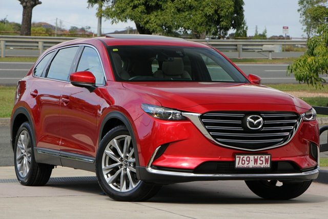Used Mazda CX-9 TC GT SKYACTIV-Drive, 2016 Mazda CX-9 TC GT SKYACTIV-Drive Red 6 Speed Sports Automatic Wagon