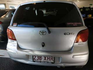 2003 Toyota Echo NCP10R Silver 5 Speed Manual Hatchback