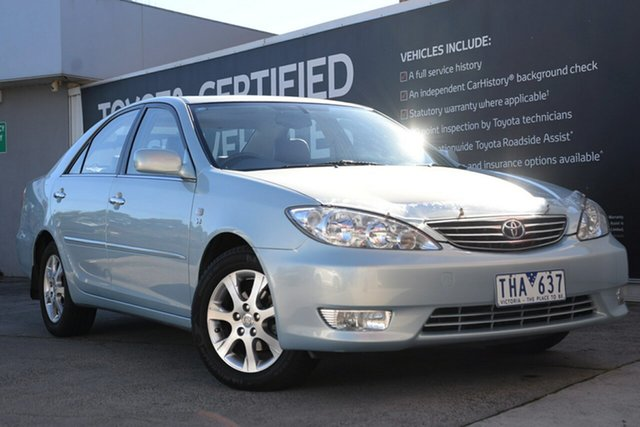 Used Toyota Camry MCV36R Grande, 2004 Toyota Camry MCV36R Grande Blue Mystique 4 Speed Automatic Sedan