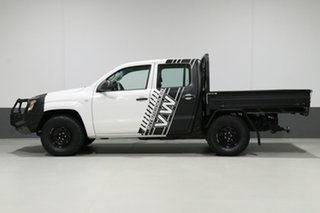 2012 Volkswagen Amarok 2H MY12.5 TDI400 (4x4) White 6 Speed Manual Dual Cab Chassis