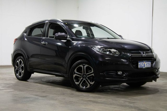 Used Honda HR-V MY16 VTi-L, 2016 Honda HR-V MY16 VTi-L Black 1 Speed Constant Variable Hatchback