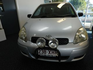 2003 Toyota Echo NCP10R Silver 5 Speed Manual Hatchback.