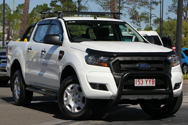 Used Ford Ranger PX MkII XLS Double Cab, 2017 Ford Ranger PX MkII XLS Double Cab White 6 Speed Manual Utility