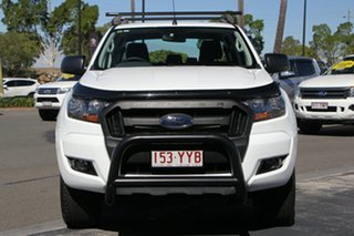 2017 Ford Ranger PX MkII XLS Double Cab White 6 Speed Manual Utility