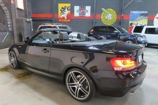 2011 BMW 1 Series E88 LCI MY0911 120i Steptronic Black 6 Speed Sports Automatic Convertible