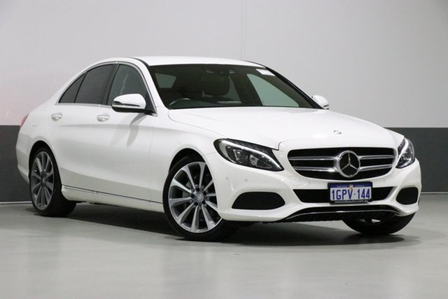 Used Mercedes-Benz C250 205 , 2015 Mercedes-Benz C250 205 White 7 Speed Automatic Sedan