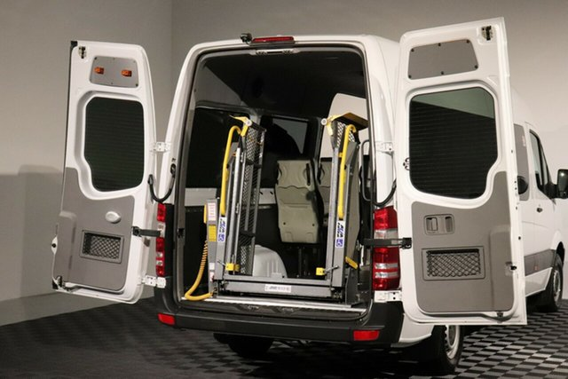 Used Mercedes-Benz Sprinter NCV3 MY12 316CDI High Roof 7G-Tronic ELWB, 2012 Mercedes-Benz Sprinter NCV3 MY12 316CDI High Roof 7G-Tronic ELWB White 7 Speed Sports Automatic