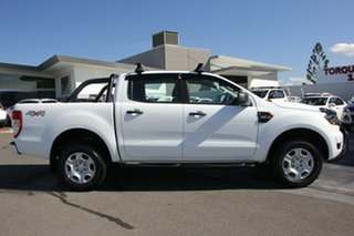 2017 Ford Ranger PX MkII XLS Double Cab White 6 Speed Manual Utility.