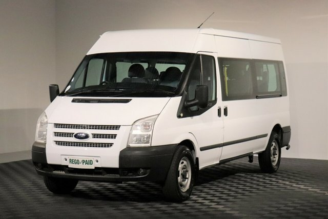 Used Ford Transit VM MY13 Mid Roof, 2013 Ford Transit VM MY13 Mid Roof White Bus