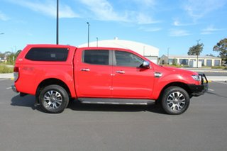 2016 Ford Ranger PX MkII XLT Double Cab Race Red 6 Speed Sports Automatic Utility