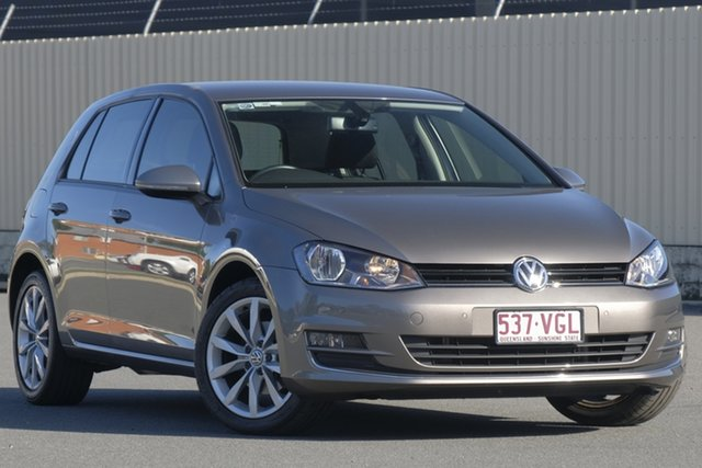 Used Volkswagen Golf VII MY14 103TSI DSG Highline, 2014 Volkswagen Golf VII MY14 103TSI DSG Highline Limestone Grey 7 Speed
