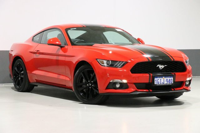 Used Ford Mustang FM MY17 Fastback 2.3 GTDi, 2017 Ford Mustang FM MY17 Fastback 2.3 GTDi Red 6 Speed Automatic Coupe