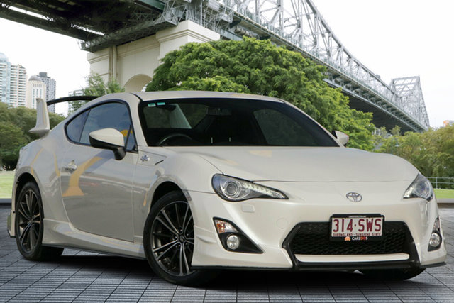 Used Toyota 86 ZN6 GTS, 2012 Toyota 86 ZN6 GTS White 6 Speed Manual Coupe
