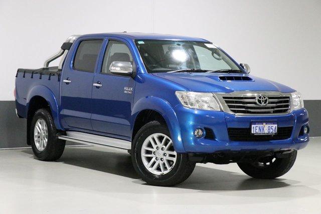 Used Toyota Hilux KUN26R MY14 SR5 (4x4), 2014 Toyota Hilux KUN26R MY14 SR5 (4x4) Blue 5 Speed Automatic Dual Cab Pick-up