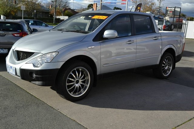Used Ssangyong Actyon Sports  4x4, 2007 Ssangyong Actyon Sports 4x4 Silver Manual Utility