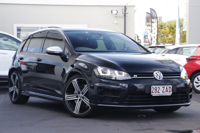 Used Volkswagen Golf VII MY16 R DSG 4MOTION, 2015 Volkswagen Golf VII MY16 R DSG 4MOTION Black 6 Speed Sports Automatic Dual Clutch Hatchback