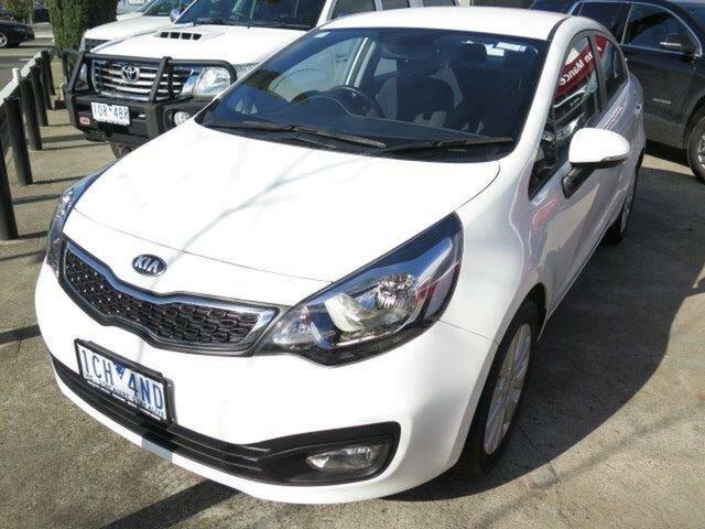 Used Kia Rio UB MY13 SI, 2013 Kia Rio UB MY13 SI White 6 Speed Sports Automatic Sedan