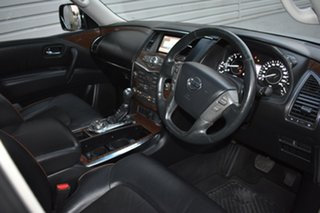 2015 Nissan Patrol Y62 TI Silver 7 Speed Sports Automatic Wagon