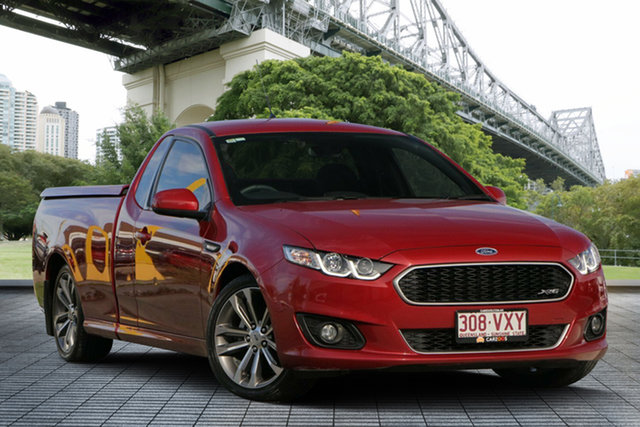 Used Ford Falcon FG X XR6 Ute Super Cab, 2015 Ford Falcon FG X XR6 Ute Super Cab Red 6 Speed Sports Automatic Utility