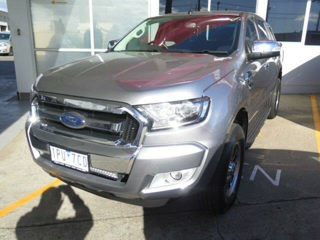 Used Ford Ranger PX MkII XLT Double Cab 4x2 Hi-Rider, 2015 Ford Ranger PX MkII XLT Double Cab 4x2 Hi-Rider Grey 6 Speed Sports Automatic Utility
