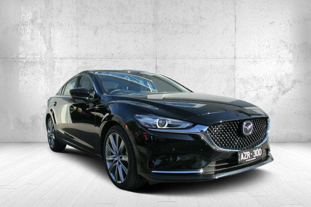 Demo Mazda 6 GL1032 GT SKYACTIV-Drive, 2018 Mazda 6 GL1032 GT SKYACTIV-Drive Black 6 Speed Sports Automatic Sedan