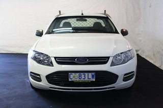 2012 Ford Falcon FG MkII Ute Super Cab White 6 Speed Sports Automatic Utility.