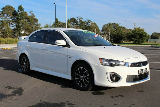 Used Mitsubishi Lancer CF MY17 ES Sport, 2017 Mitsubishi Lancer CF MY17 ES Sport White 6 Speed Constant Variable Sedan