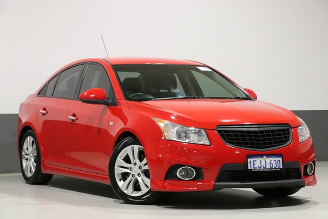 Used Holden Cruze JH MY14 SRi V, 2013 Holden Cruze JH MY14 SRi V Red 6 Speed Manual Sedan