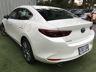 2019 Mazda 3 BP2S7A G20 SKYACTIV-Drive Touring White Pearl 6 Speed Sports Automatic Sedan