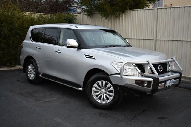 Used Nissan Patrol Y62 TI, 2015 Nissan Patrol Y62 TI Silver 7 Speed Sports Automatic Wagon