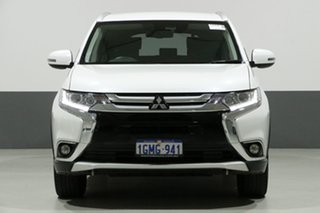 2018 Mitsubishi Outlander ZL MY18.5 LS 7 Seat (AWD) White Continuous Variable Wagon.