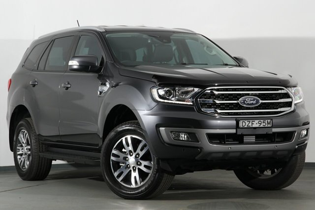 Used Ford Everest UA II 2019.00MY Trend 4WD, 2018 Ford Everest UA II 2019.00MY Trend 4WD Meteor Grey 6 Speed Sports Automatic SUV