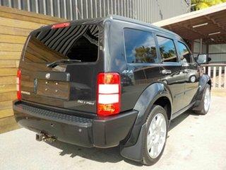 2010 Dodge Nitro KA MY09 SX Black 4 Speed Automatic Wagon.