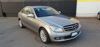 2009 Mercedes-Benz C220 CDI W204 Classic Grey 5 Speed Automatic Sedan.