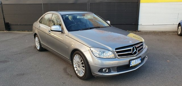 Used Mercedes-Benz C-Class W204 , 2009 Mercedes-Benz C-Class W204 Grey 5 Speed Automatic Sedan