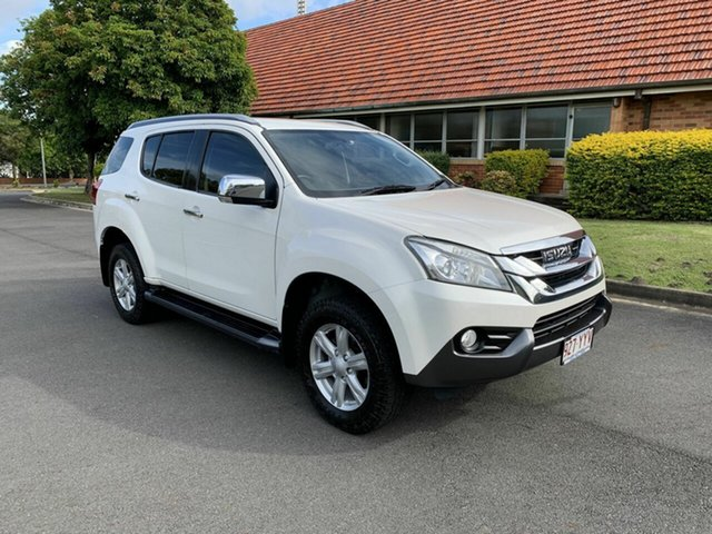 Used Isuzu MU-X  , 2015 Isuzu MU-X LS-T White 5 Speed Automatic Wagon