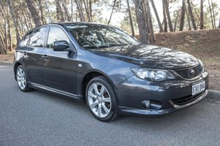 2008 Subaru Impreza G3 MY08 RS AWD Dark Grey 5 Speed Manual Hatchback.
