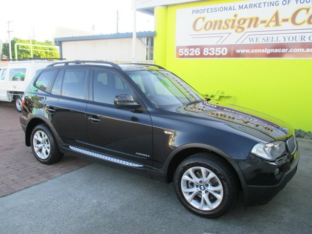 Used BMW X3 E83 MY09 xDrive20d Steptronic Lifestyle, 2009 BMW X3 E83 MY09 xDrive20d Steptronic Lifestyle Black 6 Speed Automatic Wagon