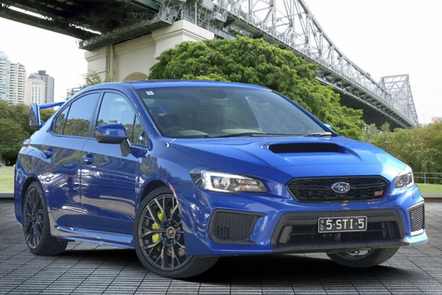 Demo Subaru WRX V1 MY18 STI AWD spec.R, 2018 Subaru WRX V1 MY18 STI AWD spec.R WR Blue Mica 6 Speed Manual Sedan