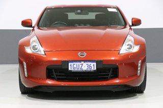 2014 Nissan 370Z Z34 MY13.5 Orange 6 Speed Manual Coupe.