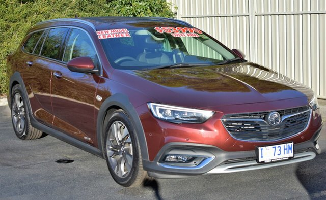 Demo Holden Calais ZB MY18 V Tourer AWD, 2018 Holden Calais ZB MY18 V Tourer AWD Rioja Red 9 Speed Sports Automatic Wagon