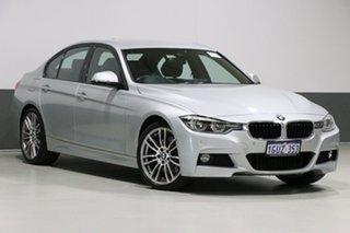 2018 BMW 330i F30 LCI MY18 M Sport Glacier Silver 8 Speed Automatic Sedan.