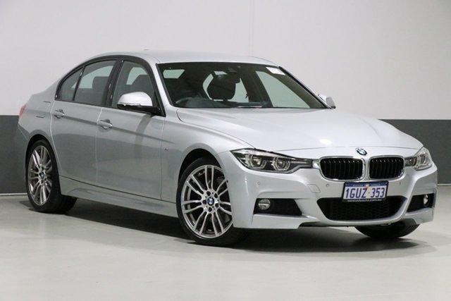 Used BMW 330i F30 LCI MY18 M Sport, 2018 BMW 330i F30 LCI MY18 M Sport Glacier Silver 8 Speed Automatic Sedan