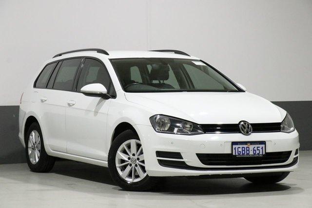 Used Volkswagen Golf AU MY16 92 TSI Trendline, 2016 Volkswagen Golf AU MY16 92 TSI Trendline White 7 Speed Auto Direct Shift Wagon