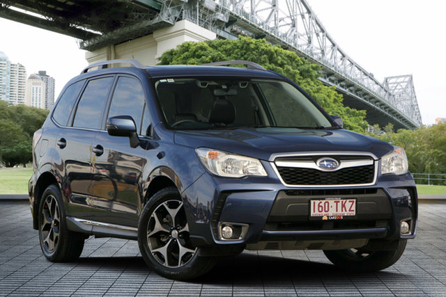 Used Subaru Forester S4 MY14 XT Lineartronic AWD, 2013 Subaru Forester S4 MY14 XT Lineartronic AWD Blue 8 Speed Constant Variable Wagon