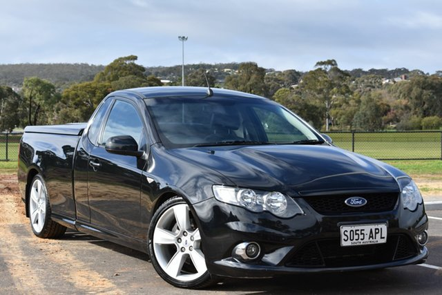 Used Ford Falcon FG XR8 Ute Super Cab, 2009 Ford Falcon FG XR8 Ute Super Cab Black 6 Speed Manual Utility