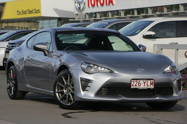 Used Toyota 86 ZN6 GT, 2017 Toyota 86 ZN6 GT Ice Silver 6 Speed Sports Automatic Coupe