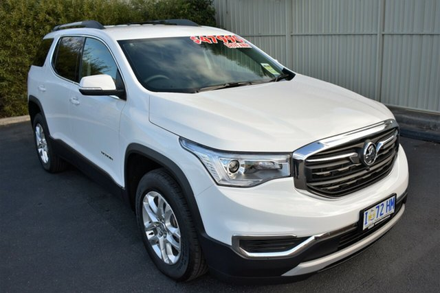 Demo Holden Acadia AC MY19 LT AWD, 2019 Holden Acadia AC MY19 LT AWD Summit White 9 Speed Sports Automatic Wagon