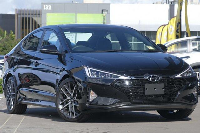 New Hyundai Elantra AD.2 MY20 Sport, 2019 Hyundai Elantra AD.2 MY20 Sport Phantom Black 6 Speed Manual Sedan