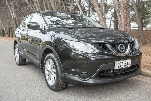 Used Nissan Qashqai J11 ST, 2015 Nissan Qashqai J11 ST Diamond Black 1 Speed Constant Variable Wagon
